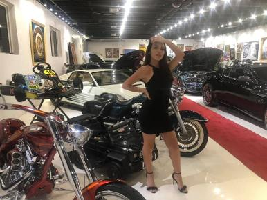 Celine Alva - Movie Star and Motorcycle Model