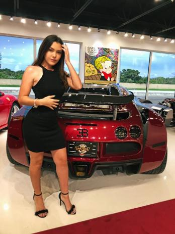 Celine Alva at The New Auto Toy Store - 2nd Annual Luxury Investor Festa 2020 - Luxury Chamber of Commerce and Bugatti