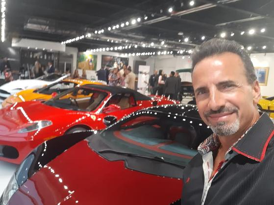 Frank Barbato's at Luxury Chamber of Commerce South Florida Chapter Event June 2020 at The New Auto Toy Store in Pompano Beach, 2nd Annual Luxury Investor Festa with Republican Magazine