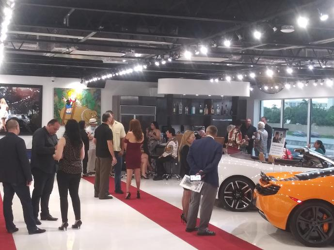 Summer 2020 Luxury Networking Event at The Auto Toy Store in Pompano Beach