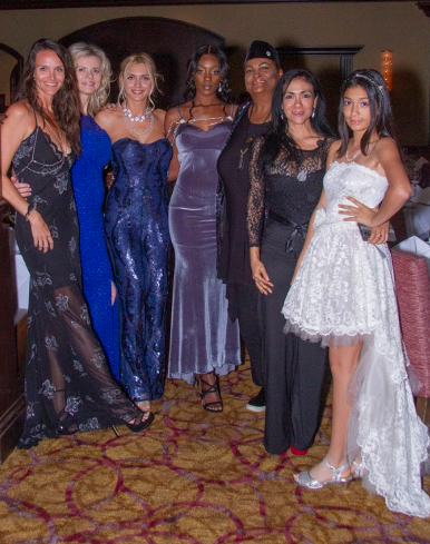 Lis Castella Models at Steak, Socialites and Success event for The Toby Center in Boca Raton