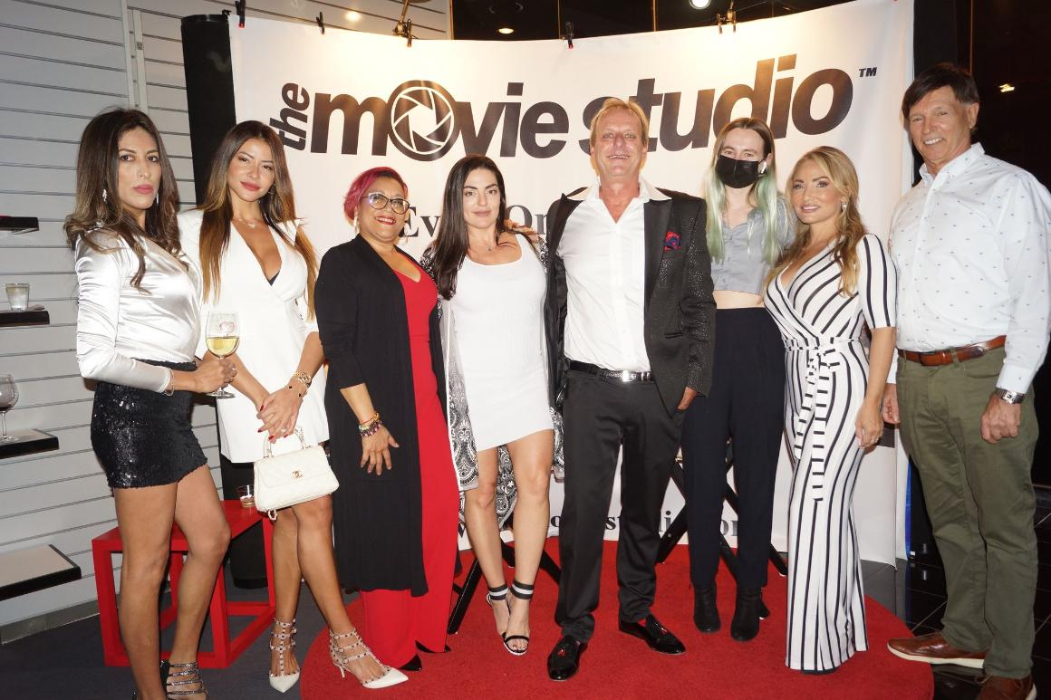 Luxury Chamber of Commerce event at the Movie Studio with Natalia Vega, Gordon Scott Venters and Friends