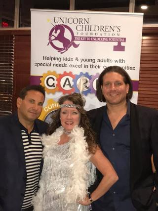 Todd Frank, Sharon Alexander and Rich Graff at a Luxury Chamber of Commerce and Unicorn Childrens Foundation Networking Event, Temper Grille in Boca Raton, FL