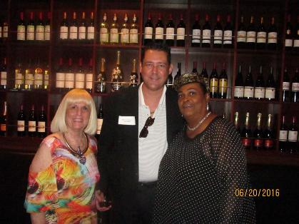 Charlotte Beasley, Jay Shapiro and Khalilah Ali Business Networking FLORIDA