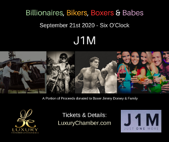 Billionaires, Bikers, Boxers and Babes Event for Boxer Jimmy Dorsey