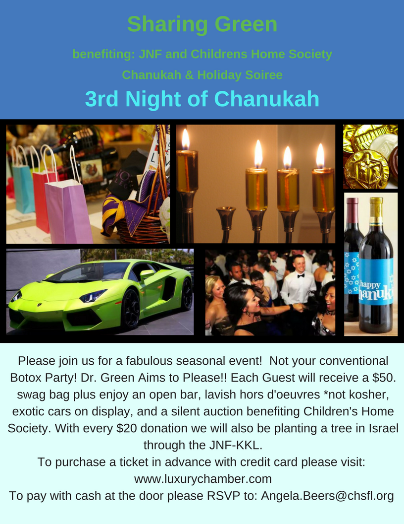 Deerfield Beach Chanukah Party 2017