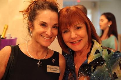 Luxury Chamber of Commerce: Left to Right Michelle Schactman and Beth Tobin