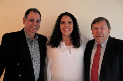 Left to Right: Dr.Michael Matone Baglino, Sara Severson & Gordon Tredgold
