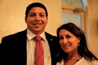 Renzo & Beth Tache from Lifestyles Media Group - Luxury Chamber Event