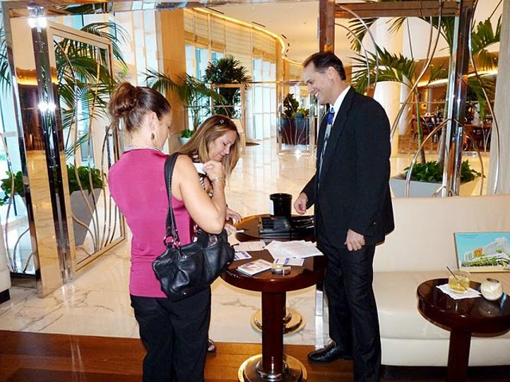 james loretz at ritz carlton fort lauderdale (jim loretz from Minnesota)