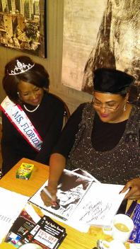 Ms. Florida - Rose and Khalilah Ali at LuxuyChamber.com event