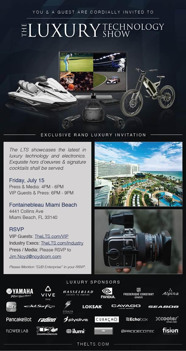 South Florida Lux Tech Show in Miami