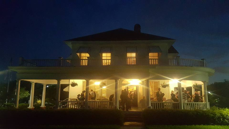 Sample-McDougald Mansion Lit Up, networking event
