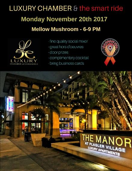 wilton manors networking event luxury chamber smart ride things to do in fort lauderdale