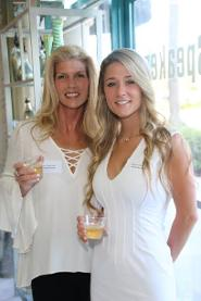 Shayna Sirkin and Kerrie Brunette at Perla Lichi Luxury Event