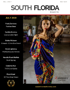 cover of south florida magazine july 2019 issue
