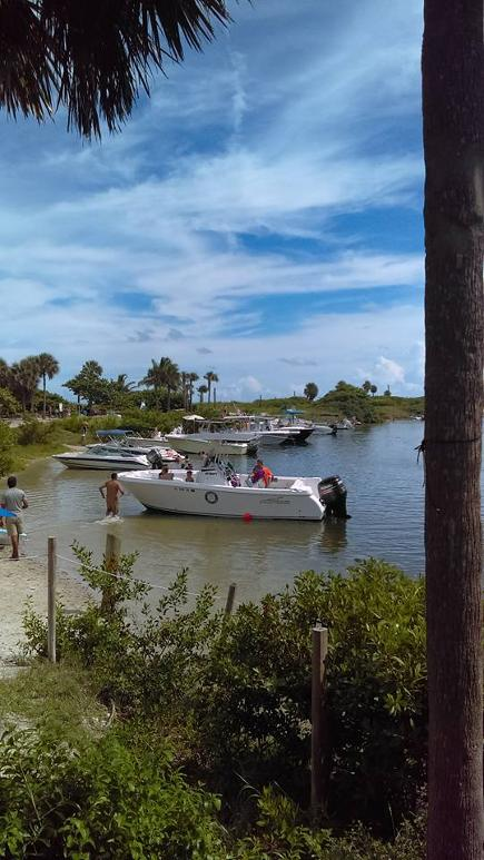 Whisky Creek Boating Raft up Spot of South Florida