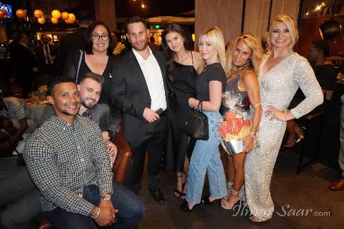 Festa Sardinia with South Florida Magazine and Luxury Chamber of Commerce - Ms. Florida, Dr. Maya Sarkisiyan, Society Scene Editor Charlotte Beasley, Stephene Klein and Mrs. Florida at Sardinia Enoteca, funds were raised for Alzheimers Association