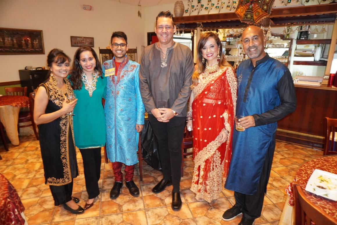 Bollywood Billionaires Event - July 20th, 2020 at The Palace in Davie, FL  photo courtesy of Ilmar Saar.  Jay Shapiro, Sayd Hussain and Guests
