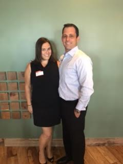 Dr. Emma Niki and Dustin Brinkley at Luxury Chamber of Commerce Event 2016