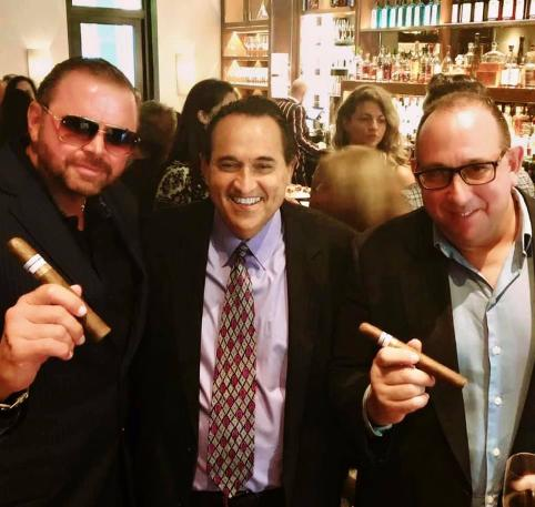 ciro dapagio, franco fiore and dave iacovetti at fiola miami luxury chamber event