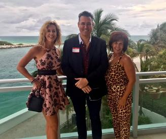 Lisa Dwoskin, Jay Shapiro and Lyn Eldridge (top 100 business women in America)