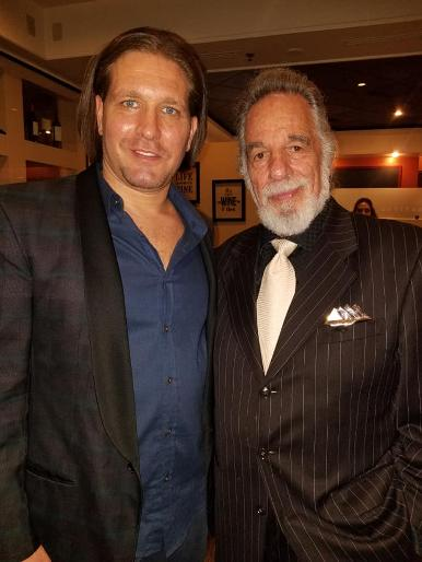 Rich Graff and Yaacov Heller at a Luxury Chamber of Commerce and Unicorn Childrens Foundation Networking Event, Temper Grille in Boca Raton, FL