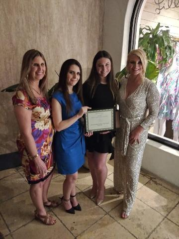 SOAR - Miami Chapter: Marina Rakopyan, Shannon Tamburi and Tanya Racoobian. Society for Armenian Orphan Relief
