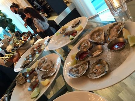 Oysters at Ritz Carlton - 3rd Annual South Florida Celebrity Fest 2019 Luxury Chamber of Commerce Bal Harbour