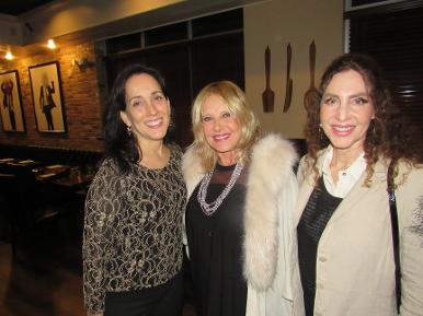 Tobi Rose Smith with Sue Migdal Tisch and friend at a Luxury Chamber of Commerce and Unicorn Childrens Foundation Networking Event, Temper Grille in Boca Raton, FL
