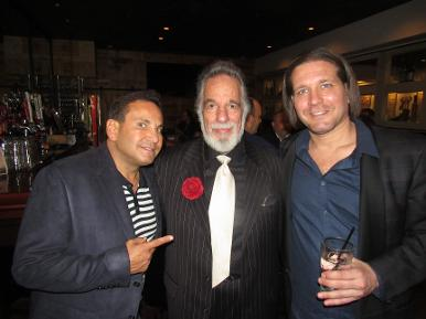 Todd Frank from 4 Star Entertainment, Yaacov Heller and Rich Graff at a Luxury Chamber of Commerce and Unicorn Childrens Foundation Networking Event, Temper Grille in Boca Raton, FL